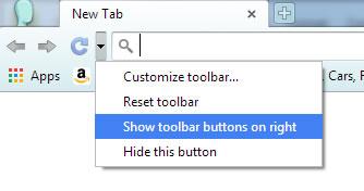 How to Customize Google Chrome Toolbar